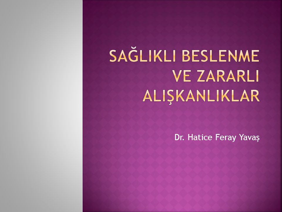 Dr. Hatice Feray Yavaş