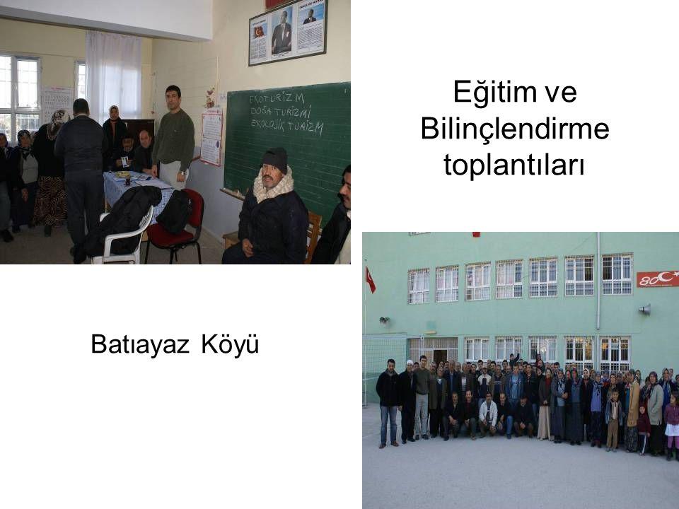 Batıayaz Köyü Eğitim ve Bilinçlendirme toplantıları