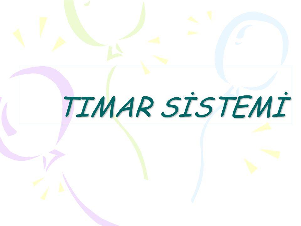 Tımar: Osmanlı Devleti nde kamu arazisi (mirî) dahilinde, yönetimi sipahiye bırakılmış olan verimli topraklara verilen ad.