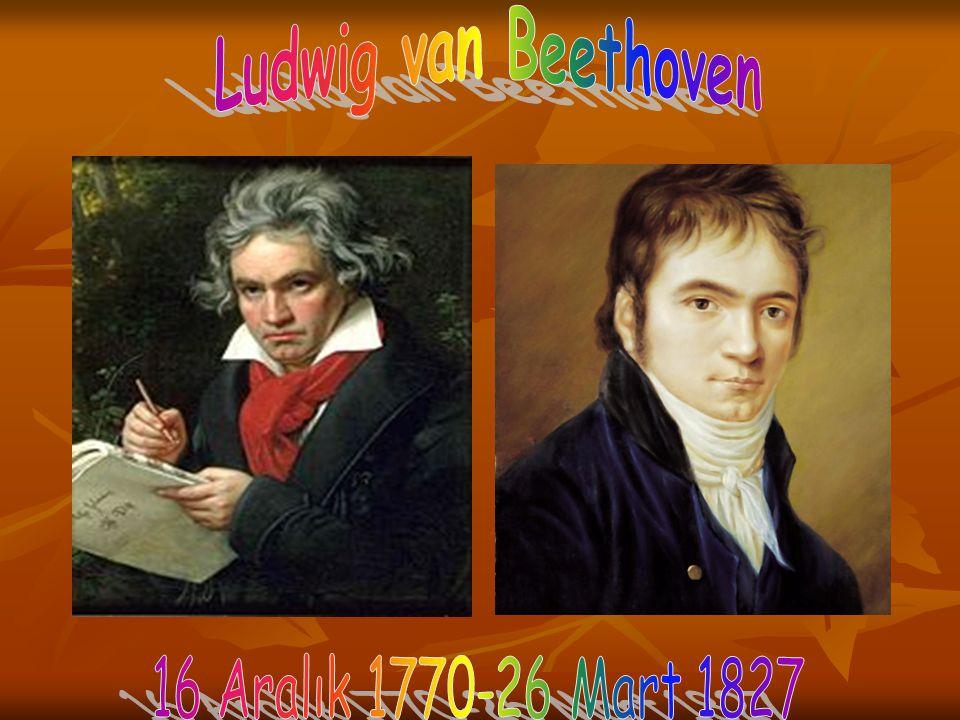 Ludwig van Beethoven 1770 yılında Bonn'da mütevazı bir ailenin çocuğu olarak dünyaya gelmiştir.