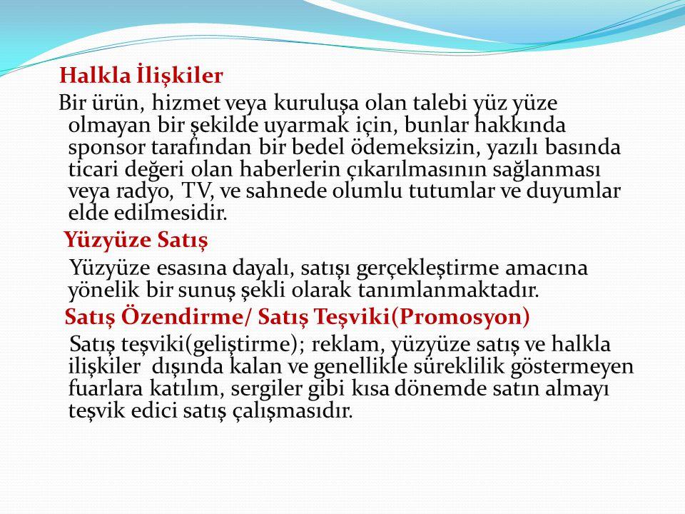YENİ PAZARLAMA YÖNTEMLERİ 1.