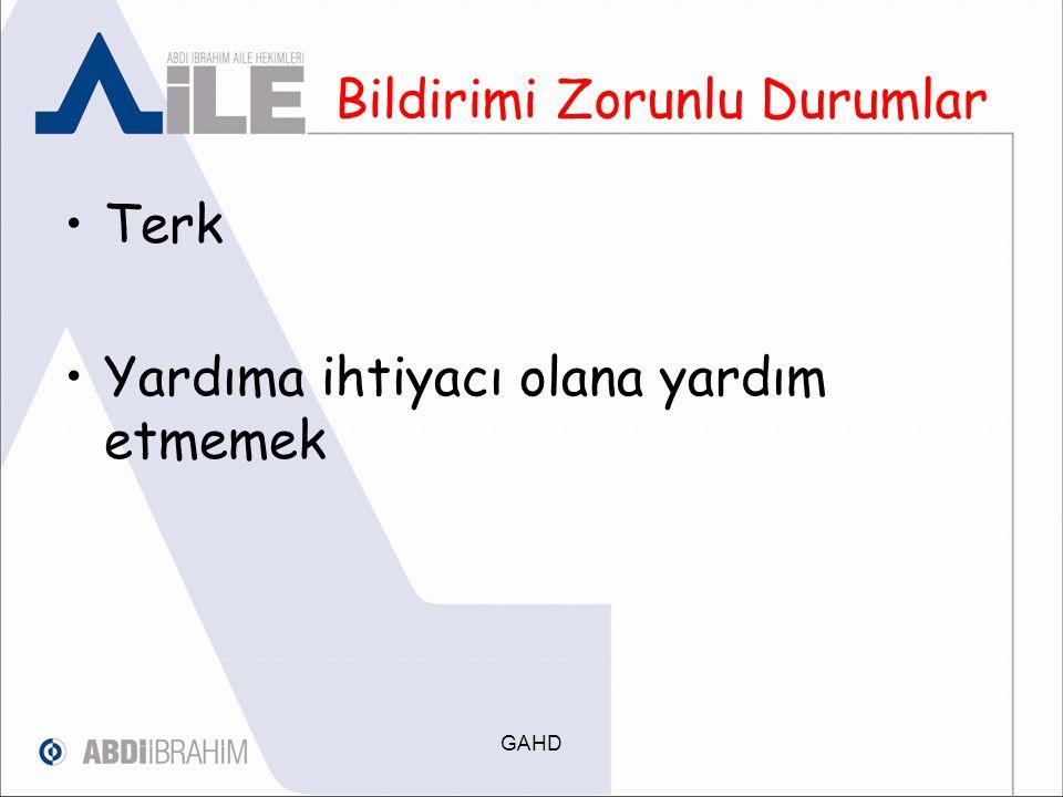 İŞLEM ÖNCELİĞİ Adlî vakaların işlem önceliği 3.1.7.