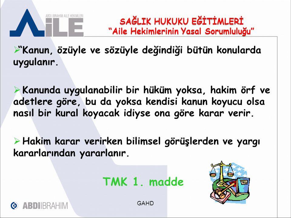 Kanunda aksine bir hüküm yoksa, tarafların her biri, hakkını dayandırdığı olguların varlığını ispatla yükümlüdür. TMK 3.