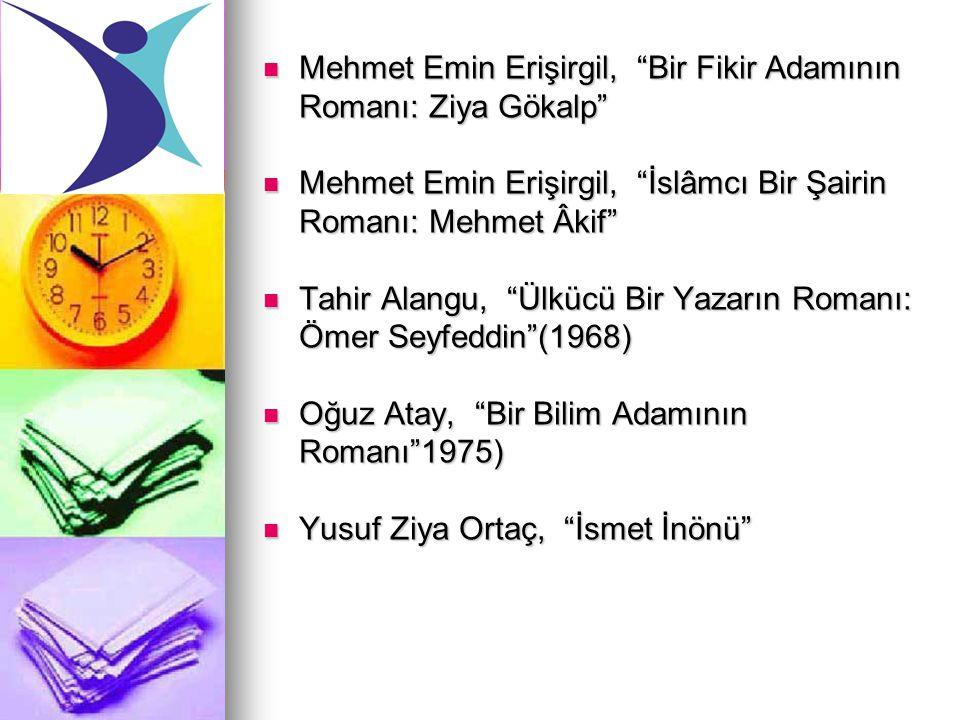 """Mehmet Emin Erişirgil, """"Bir Fikir Adamının Romanı: Ziya Gökalp"""" Mehmet Emin Erişirgil, """"Bir Fikir Adamının Romanı: Ziya Gökalp"""" Mehmet Emin Erişirgil,"""