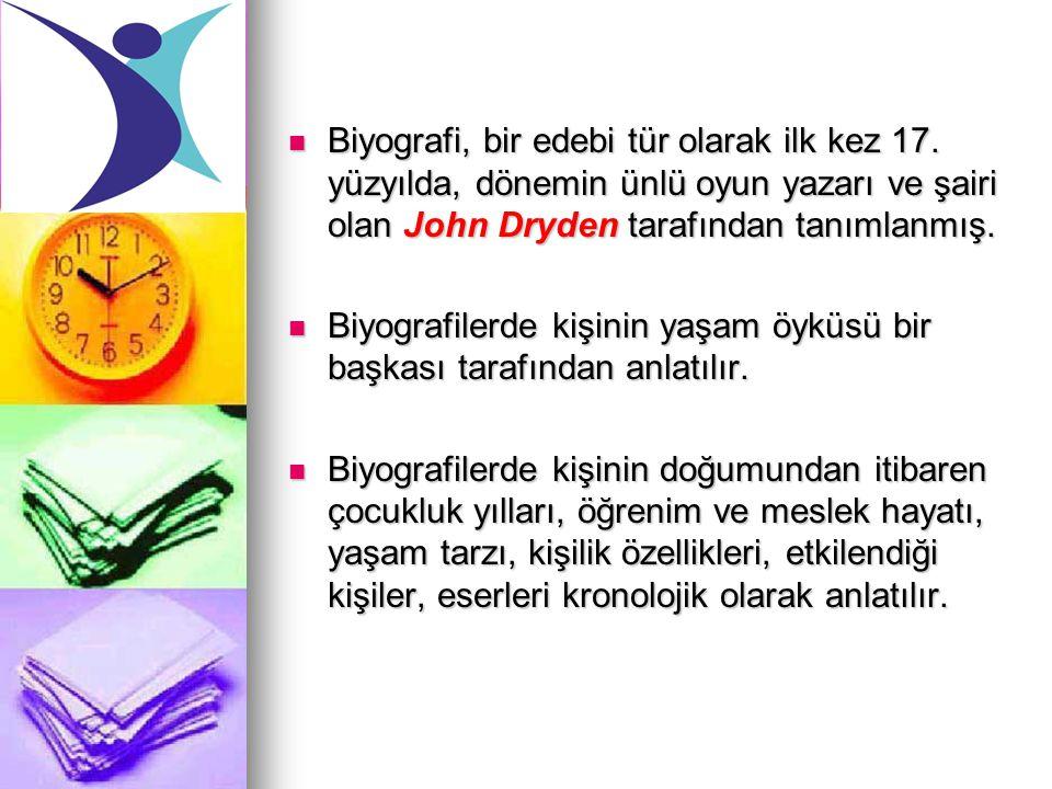 ÖRNEK BİYOGRAFİ: CEMİL MERİÇ Yazar ve mütercim.12 Aralık 1917'de Hatay Reyhanlı'da doğdu.