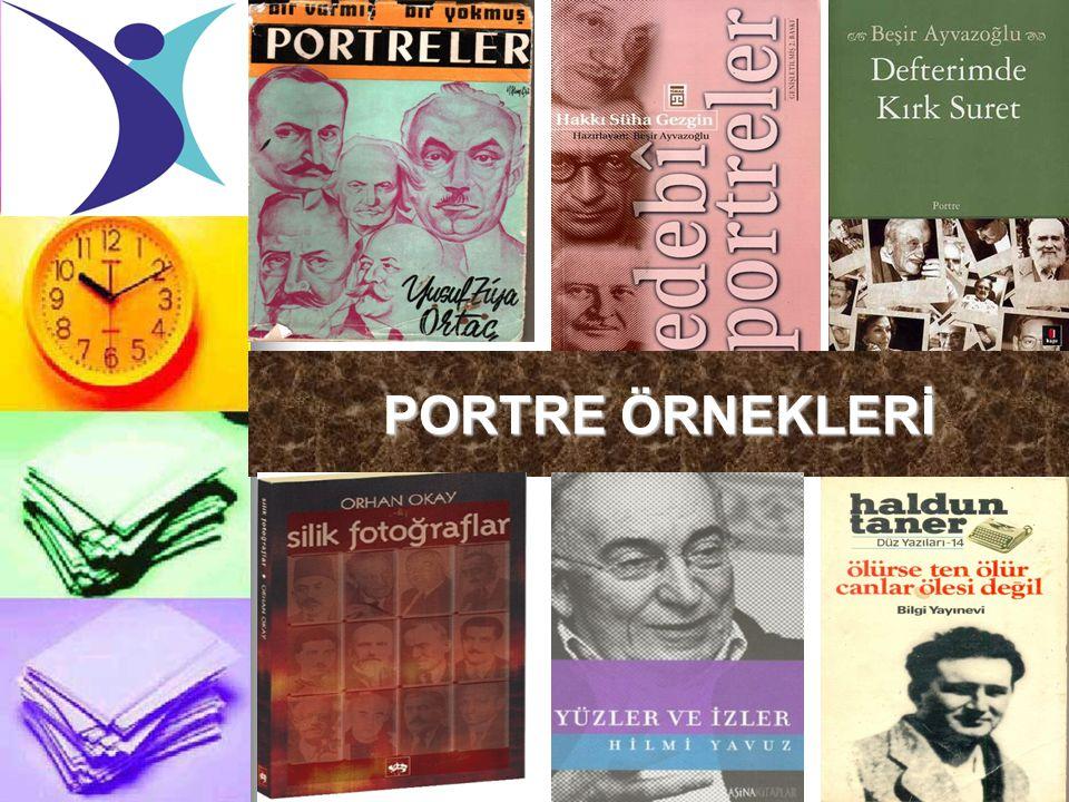 PORTRE ÖRNEKLERİ