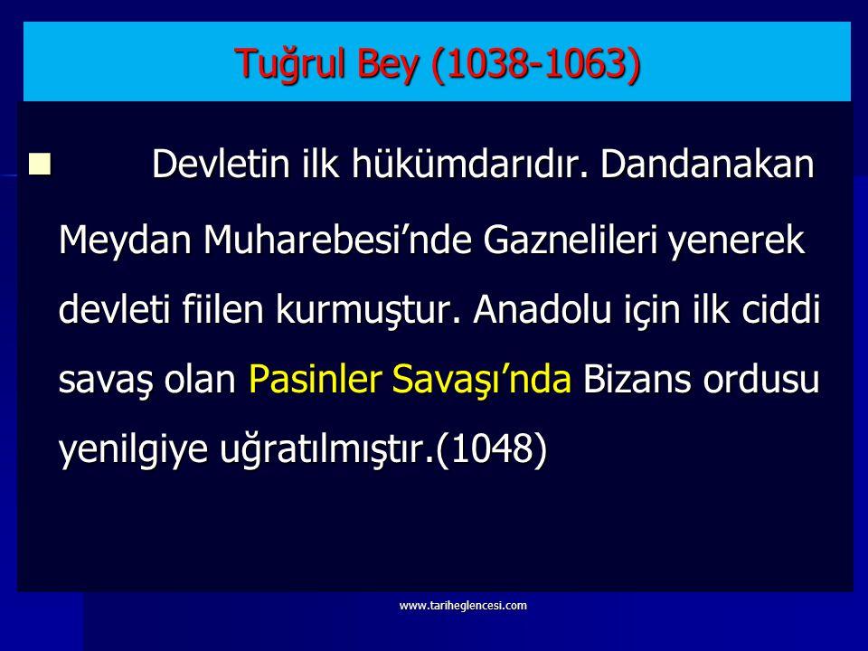 Tuğrul ve Çağrı beyler Dandanakan Muharebesi'nde Gaznelileri yenerek devletlerini kurmuşlardır. Tuğrul ve Çağrı beyler Dandanakan Muharebesi'nde Gazne