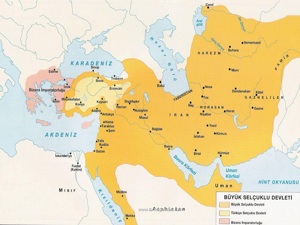 Kirman Selçukluları : Alparslan'ın kardeşi Kavurd tarafından Kirman bölgesinde kuruldu.Oğuz beylerinden Melik Dinar tarafından yıkıldı. Kirman Selçukl