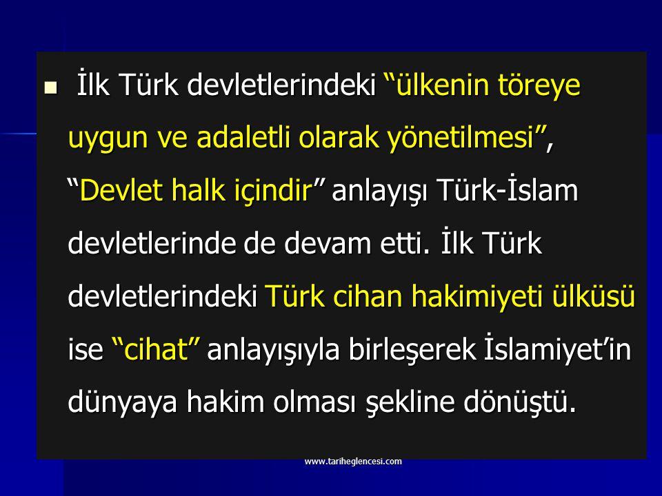 Türk Devlet geleneğinin esasını teşkil ettiği Selçuklu devlet teşkilatı; Karahanlı, Sâmânlı, Gazneli ve Abbasî devletleri teşkilatlarından geniş ölçüd