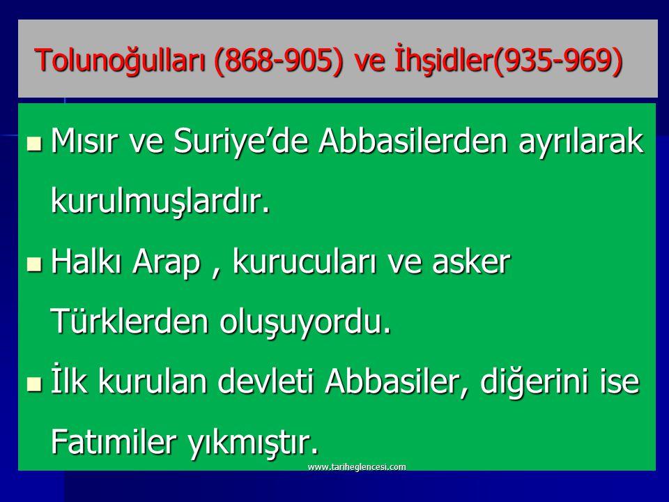 Haçlı seferlerine yol açtı.Anadolu' da ilk Türk devletleri kuruldu.