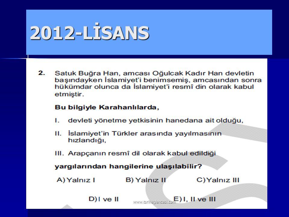 Orta Asya'da kurulan ilk Türk- İslam devleti Karahanlılardı.