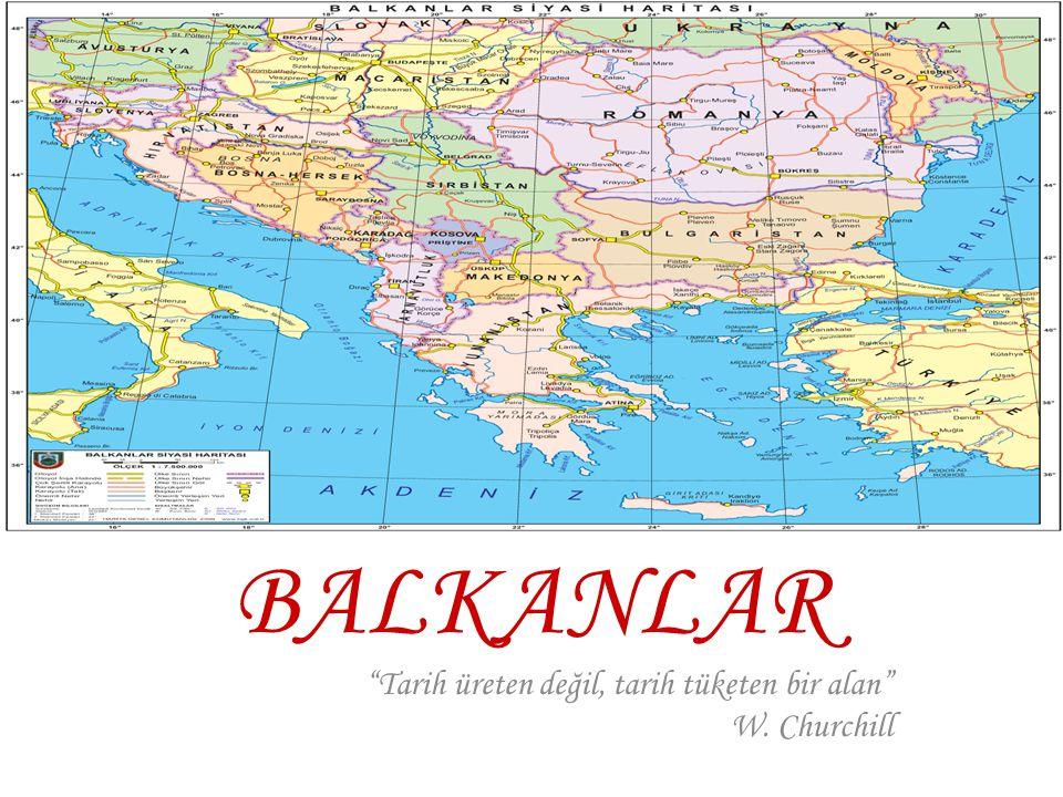 İçerik: Soğuk Savaş Yıllarında Balkanlar Soğuk Savaş'tan Günümüze Balkanlarda Yaşanan Gelişmeler Balkanlar ve Türkiye