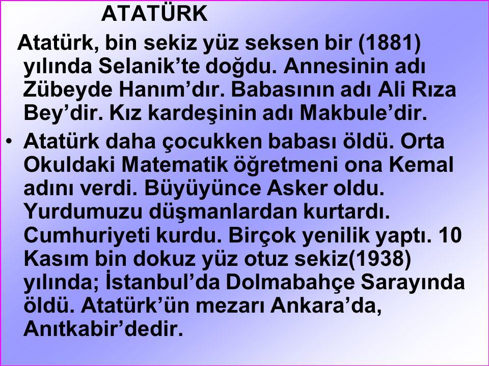 """ŞEREF KÖŞESİ Sınıfımızın Şeref Köşesinde; Atatürk resmi, Türk Bayrağı, İstiklal Marşı ve Atatürk""""ün Gençliğe Hitabesi vardır. Her sınıfta mutlaka bir"""