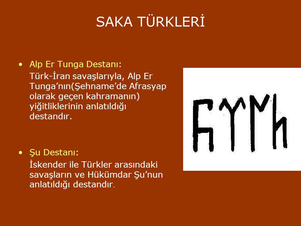 TÜRK DESTANLARI Türklerin, konulan bilinen birçok destanı vardır. Türk destanları arasında bir şair tarafından yazıya geçirilmiş olanı yoktur. Türk de