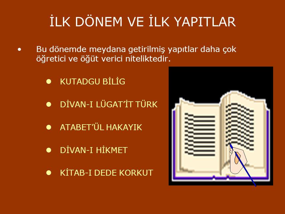 İSLAMİ DÖNEM TÜRK EDEBİYATI İslam dinine giren Türklerin sosyal ve kültürel hayatlarında önemli değişiklikler olmuştur. Türkler, yaşadıkları göçebe ha
