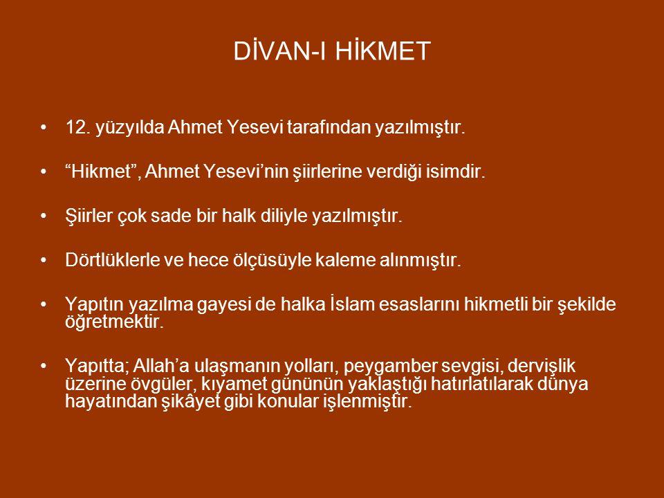 """ATABETÜ'L HAKAYIK 12. yüzyılda Edip Ahmet Yükneki tarafından yazılan Atabetü'l Hakayık, bir ahlak ve öğüt kitabıdır. """"Hakikatler eşiği"""" anlamına gelme"""