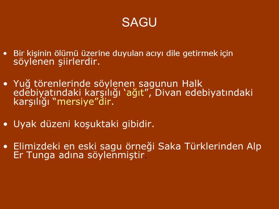 MANAS DESTANI  İslamiyet dönemi Türk destanlarındandır.