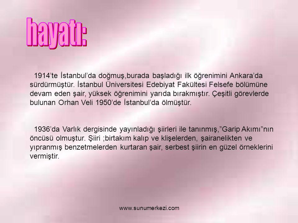 1914'te İstanbul'da doğmuş,burada başladığı ilk öğrenimini Ankara'da sürdürmüştür.