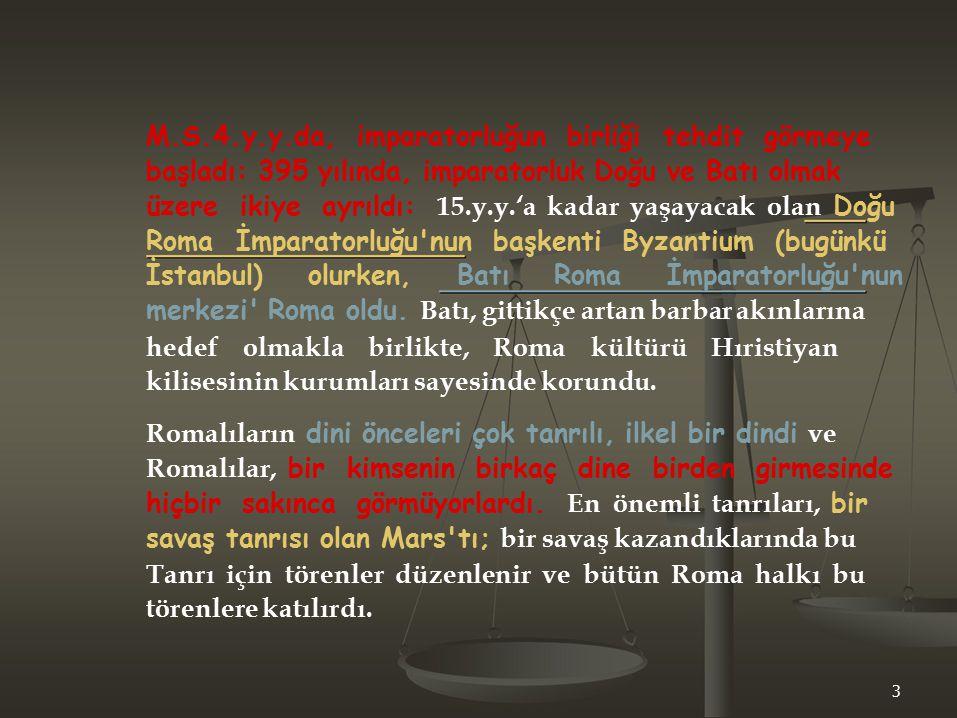 Roma uygarlığı, çift dilliydi.