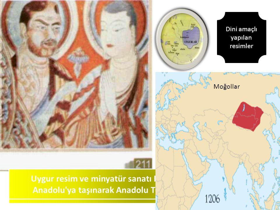 Türk resim sanatının temeli kimler tarafından atılmıştır Fresko nedir Uygur resim ve minyatür sanatı Kimler aracılığıyla Iran ve Anadolu'ya taşınarak