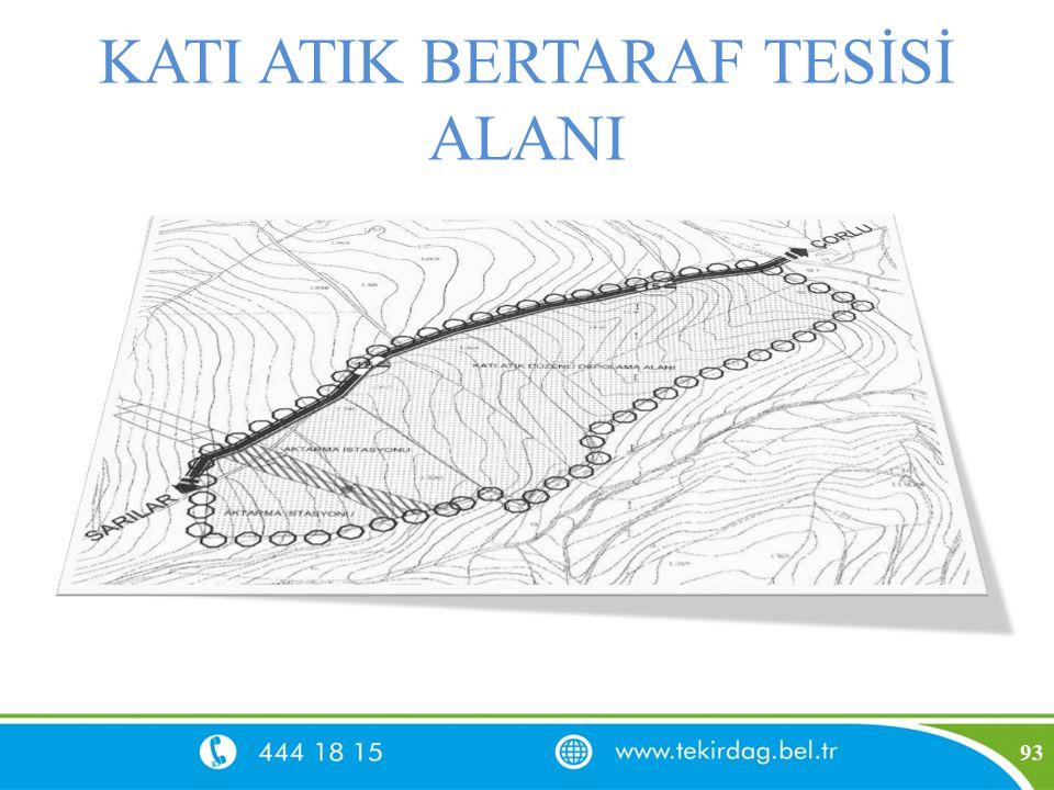 KATI ATIK BERTARAF TESİSİ ALANI 93