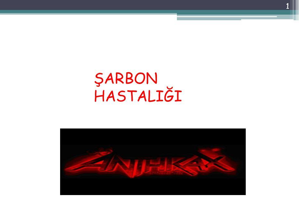 ŞARBON HASTALIĞI 1