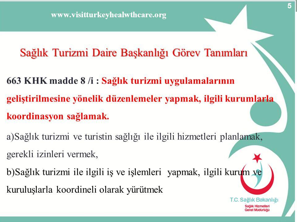 SSB AVANTAJLARI -En az % 50 Yabancı sağlık personeli hizmet verecek -İşletmeciler için birçok vergi avantajlarından yararlanma imkânı sağlar (SSK primi, KDV, kurumlar vergisi vb vergilerden muafiyet), -Yatırımcı için ucuz altyapı ve yatırım imkânı sağlanır, -Yurtdışındaki çalışan Türk hekimler mecburi hizmete tabii olmayacak 26 www.visitturkeyforhealthcare.org