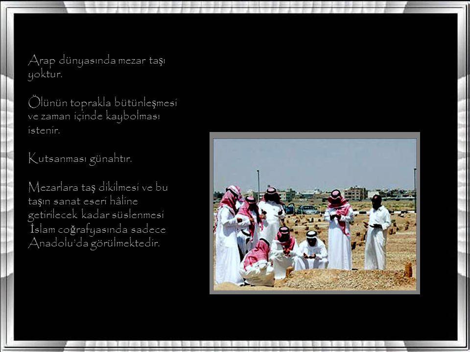 Eski Türklerde mezarları gizleme gelene ğ i yoktur, aksine özellikle büyüklerin özel mezarları yapılıp, üzerlerine bir yapı (bark) yapılmı ş, barkın i