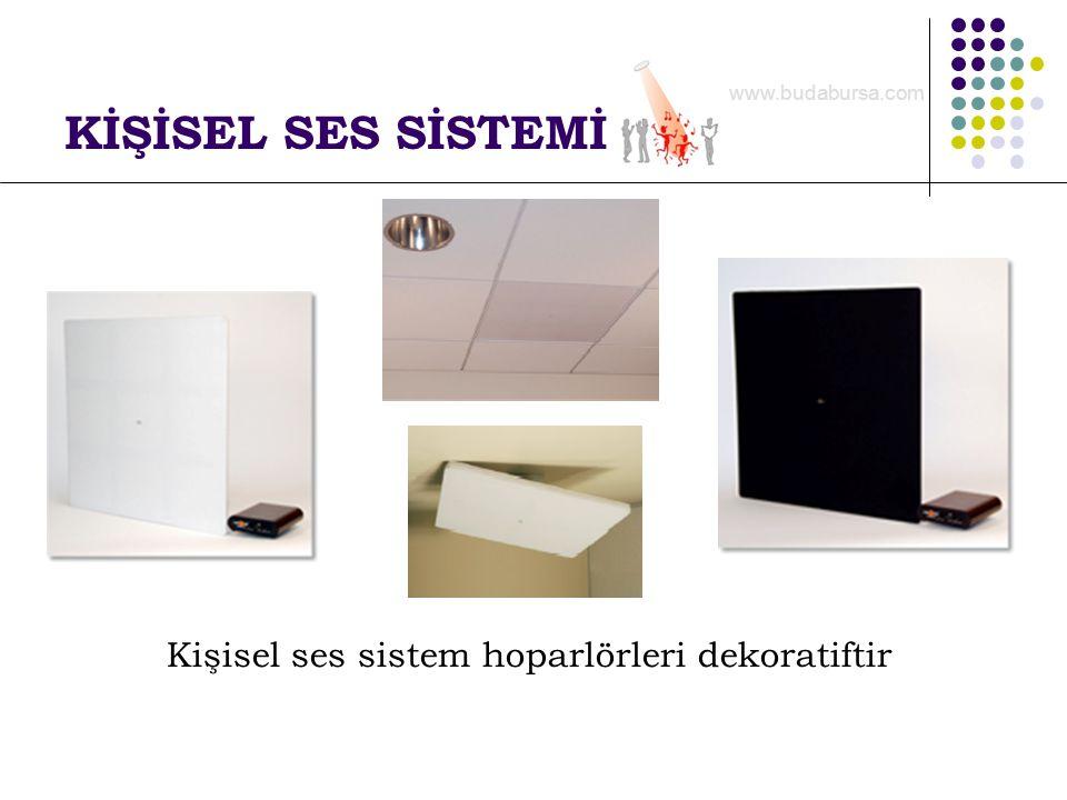 KİŞİSEL SES SİSTEMİ Kişisel ses sistem hoparlörleri dekoratiftir www.budabursa.com