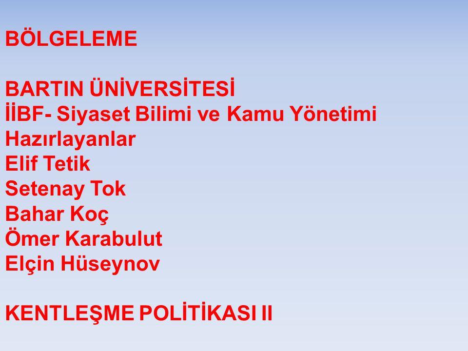 Türkiye'de plan türleri kademeli olarak, kalkınma planı, bölge planı, çevre planı, nazım imar planı ve imar planı olarak gösterilmektedir.