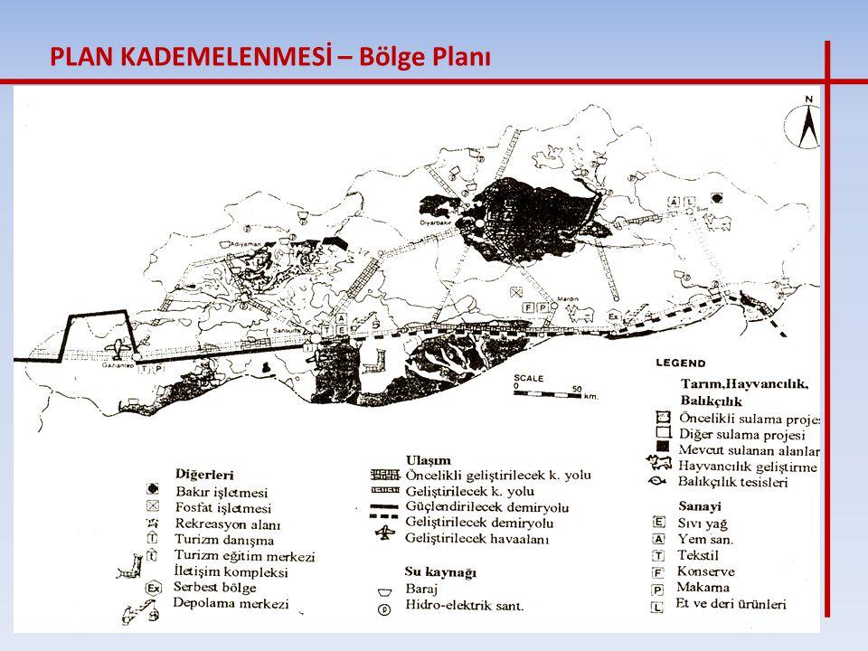 Alt Bölge Planı; Mekansal ve işlevsel bütünlük arz eden bir veya birden fazla il sınırları bütününde veya bir kısmında, varsa ülke fiziki planı ve bölge planı kararlarına uygun olarak, demografik, kültürel, ekonomik, sosyal, fiziksel araştırmaların ve verilerin değerlendirilmesi ile hazırlanan, korunacak tabiat ve kültür varlıkları, su havzaları, ormanlar, tarımsal alanlar ve benzeri doğal kaynak ve varlıklar, afete maruz yerleşme ve alanlar, temel altyapı, enerji, sanayi, ticaret, turizm merkezleri, ulaşım merkez ve eksenleri ile ana ulaşım ve altyapı kararlarını içeren, makro ölçekte nüfus dağılımı ve yoğunluğunu veren, yerleşme gelişme yönünü gösteren, konut, sanayi, tarım, turizm, ulaşım gibi yerleşme ve arazi ana kullanımı kararlarını yürürlükteki tüm mevzuat hükümleri doğrultusunda belirleyen, sektörler arasında koruma kullanma dengesi sağlayan, idareler ve disiplinler arası eş güdüm esaslarını içeren, açıklama raporları ve plan notları ile bir bütün olan plandır. olarak yapılmaktadır.