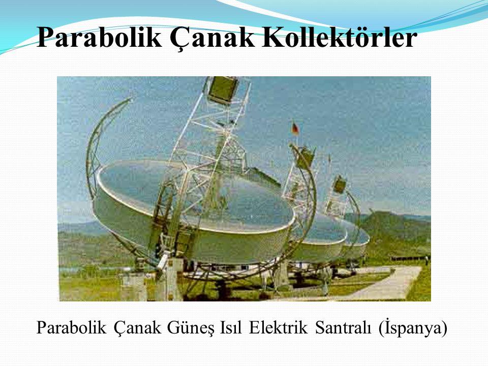 Parabolik Çanak Güneş Isıl Elektrik Santralı (İspanya) Parabolik Çanak Kollektörler