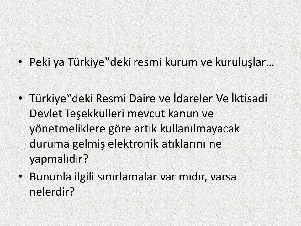 """Peki ya Türkiye""""deki resmi kurum ve kuruluşlar… Türkiye""""deki Resmi Daire ve İdareler Ve İktisadi Devlet Teşekkülleri mevcut kanun ve yönetmeliklere gö"""