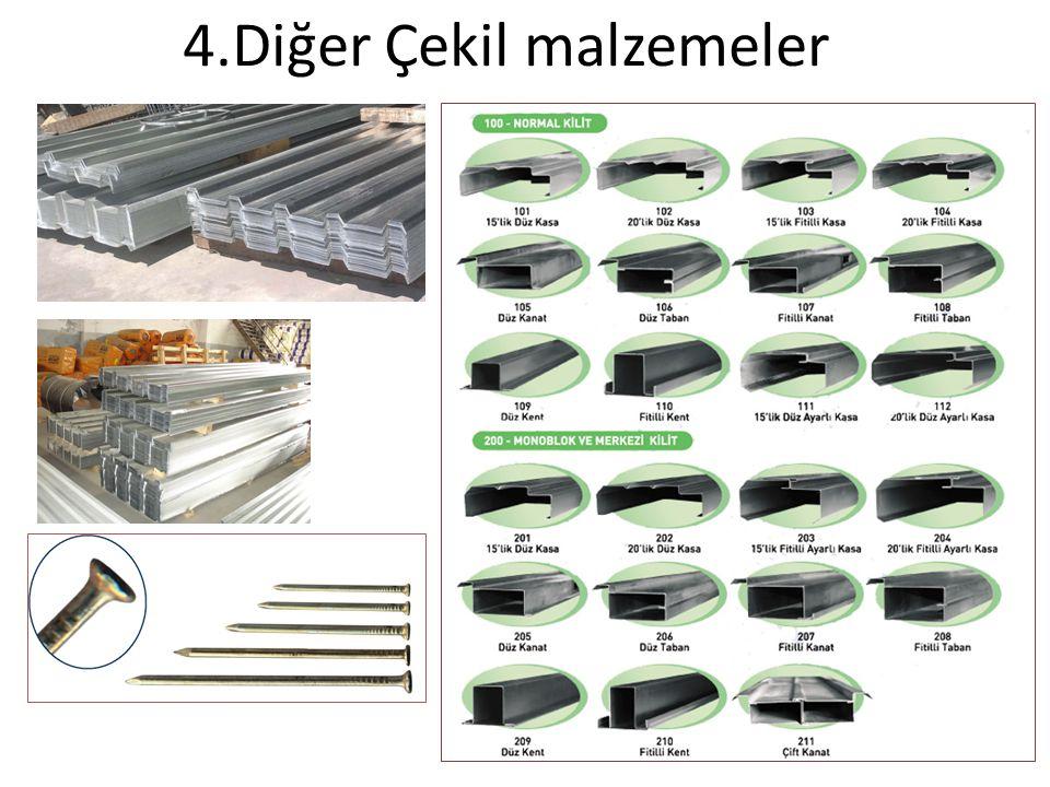 4.Diğer Çekil malzemeler