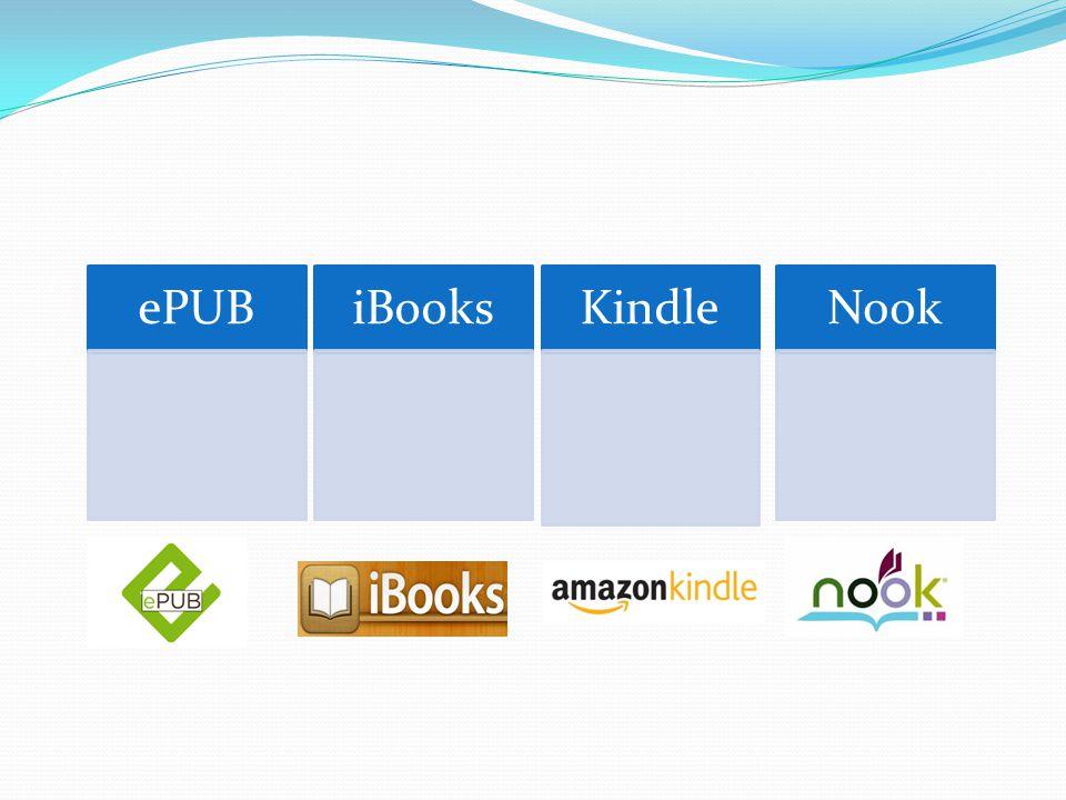 ePUBiBooksKindleNook