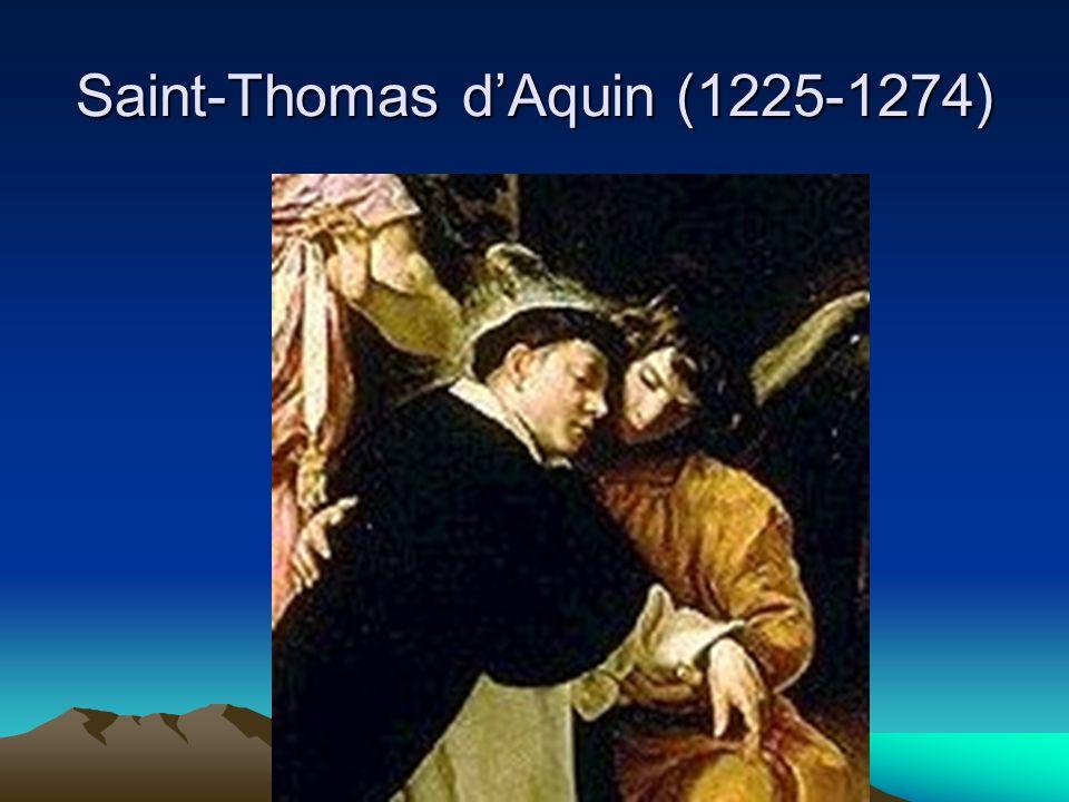 Saint-Thomas d'Aquin (1225-1274)