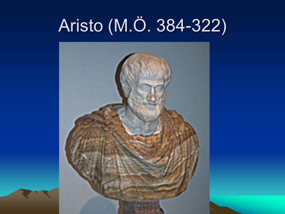 Aristo (M.Ö. 384-322)
