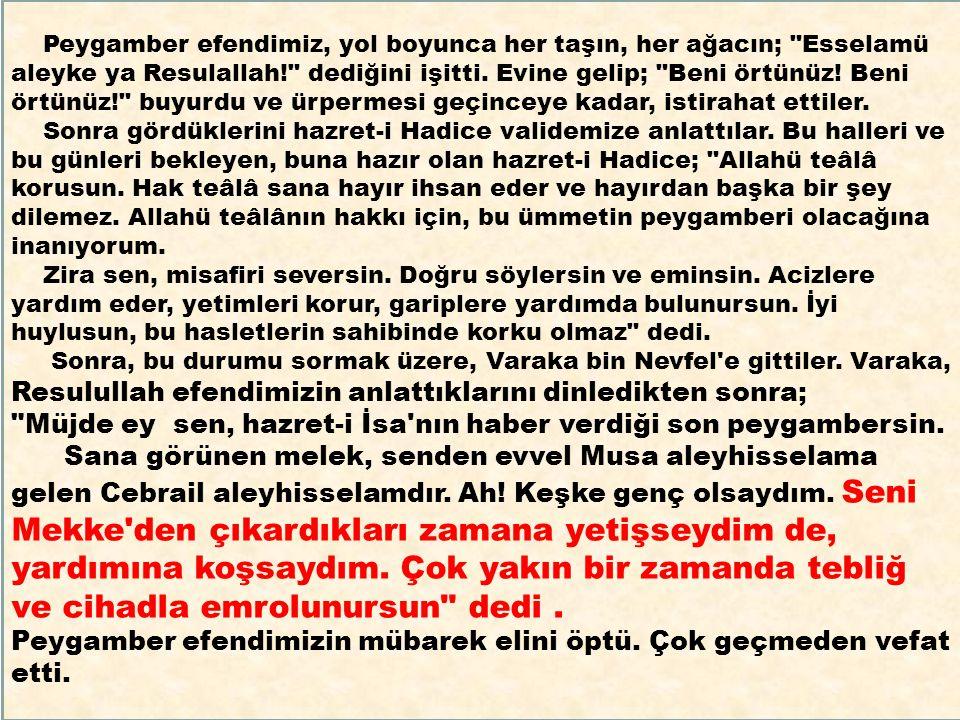 4 KASIM PA ZARTESİ 1 Muharrem tarihi itibariyle İslam Alemi hicri 1435 yılına girdi.