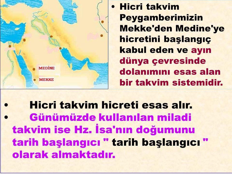Hz.Ömer (r.a.) devrinde Hicretin 17.