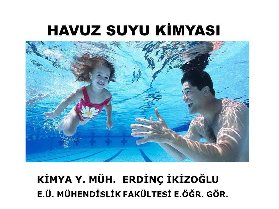 Uçuculukları nedeni ile, THM ler kapalı havuzlarda havada ve suyun yüzeyinde bulunur.