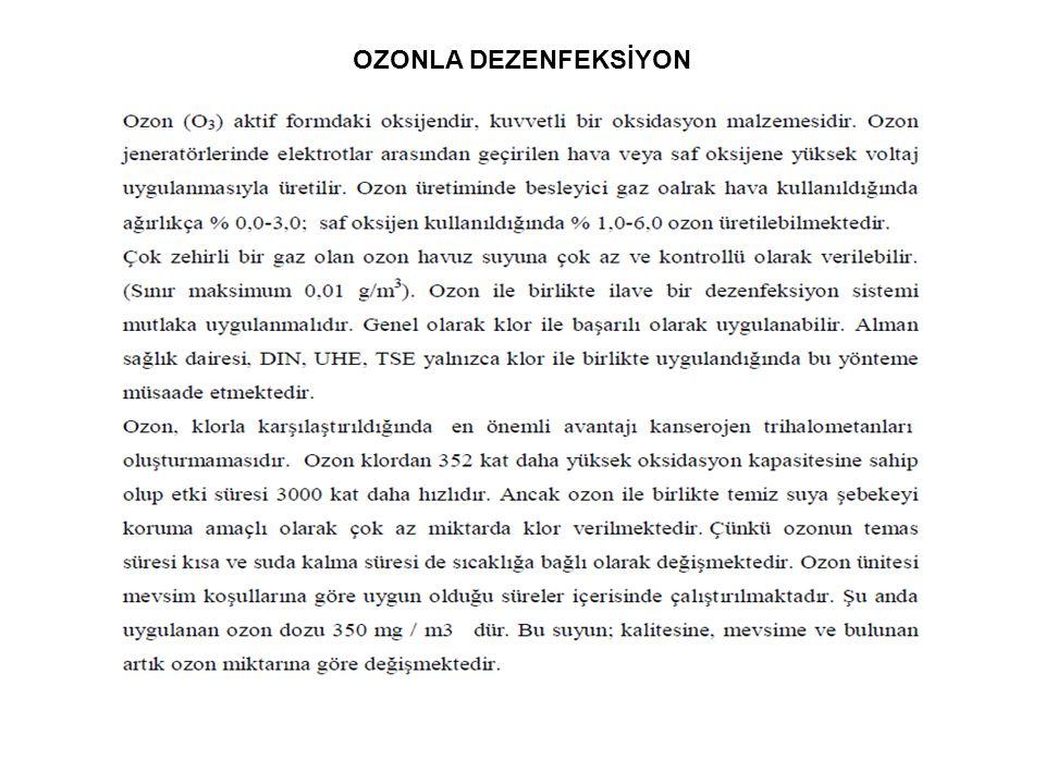 OZONLA DEZENFEKSİYON