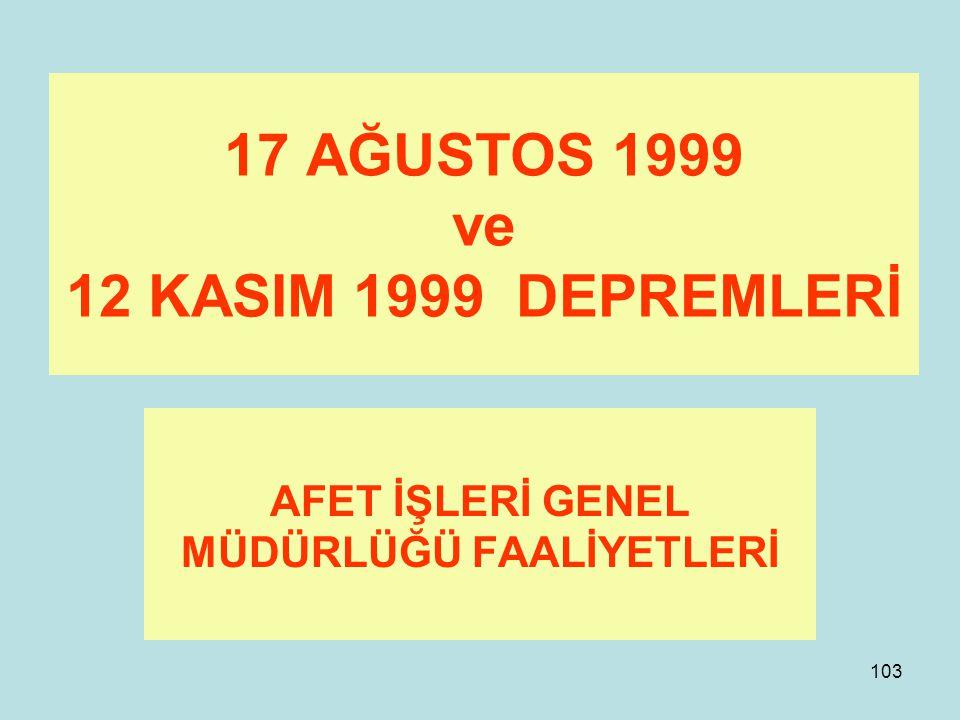 102 Kısaca Doğu Marmara Depremi Zaman ve ilgi varsa devam???