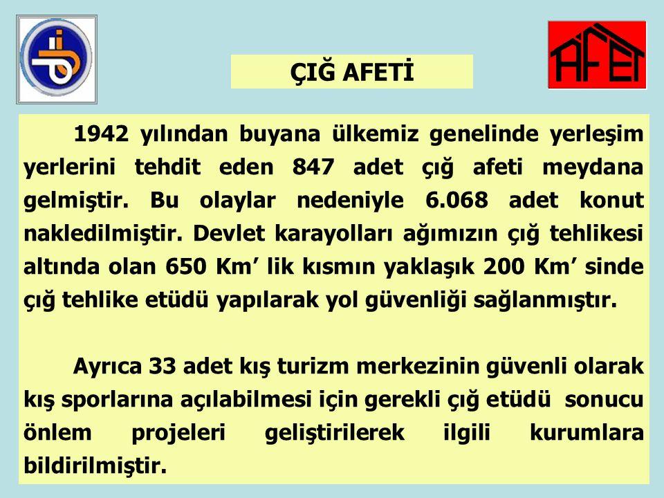 43 KAYA DÜŞMESİ TEHLİKESİ HARİTASI BİB, AFET İŞLERİ GENEL MÜDÜRLÜĞÜ