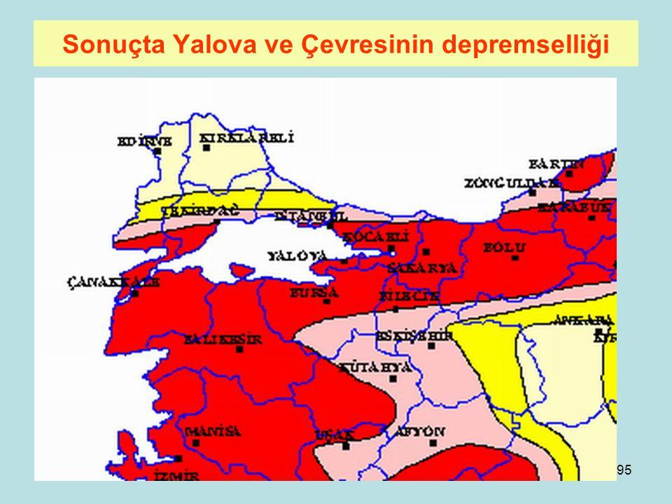 94 Marmara Denizi Tabanında Durum Cınarcık Çukuru Prof. Dr. Naci Görürden