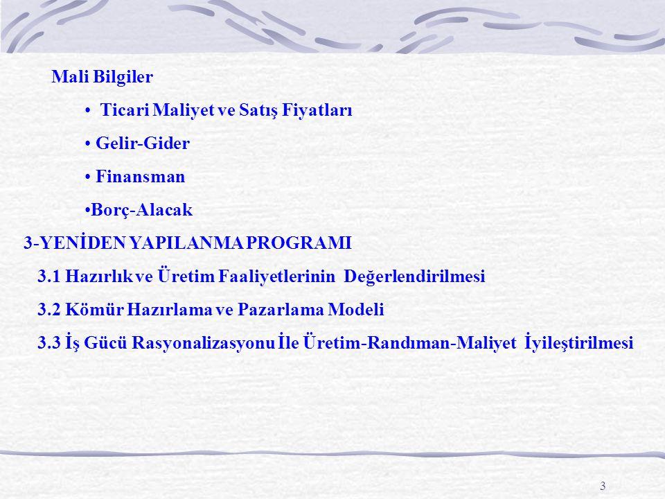 54 1995-2003 Yılları Sektörler İtibariyle Satışlar * Program