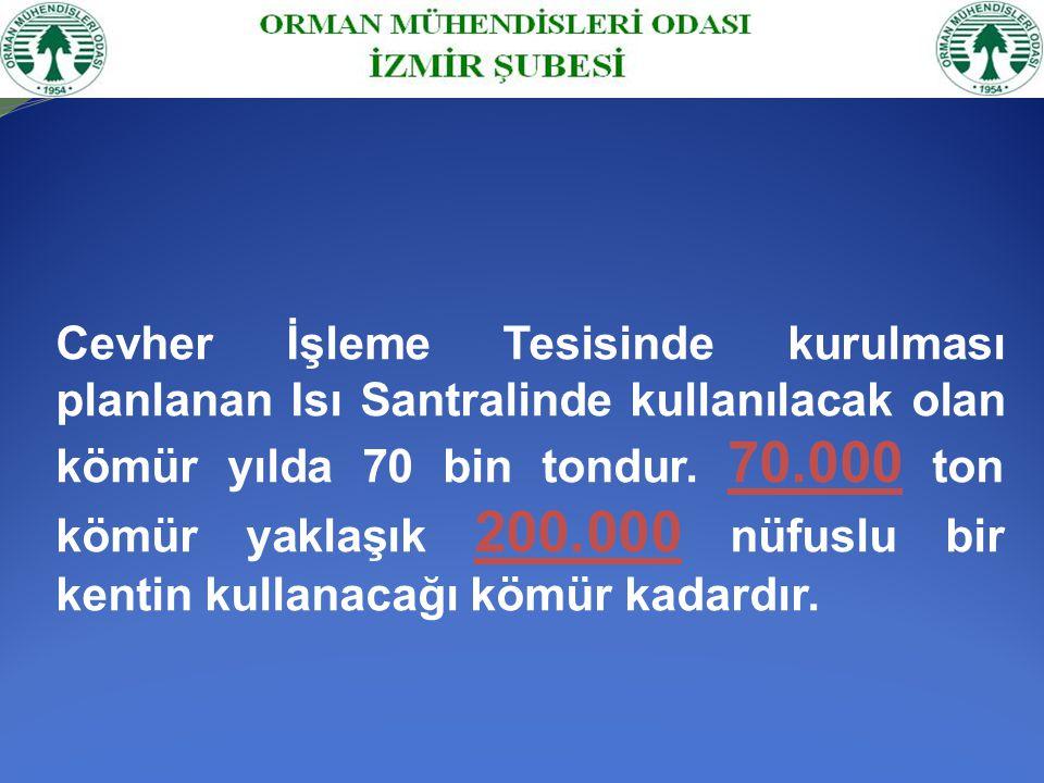 Gördes ve Turgutlu Çaldağ Çed Raporları ENCON Çevre Danışmanlık Ltd.