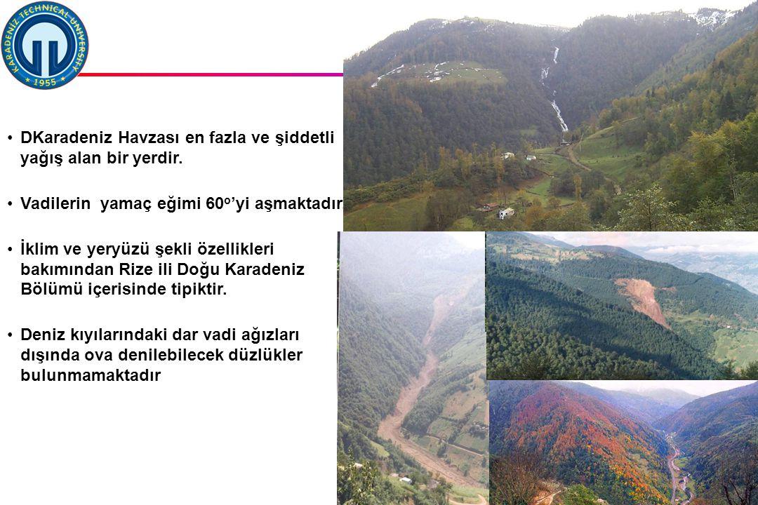 İstanbul, 2007 DSİ, 10 Şubat 2011, Trabzon, ©EZB 26 DKaradeniz Havzası en fazla ve şiddetli yağış alan bir yerdir.