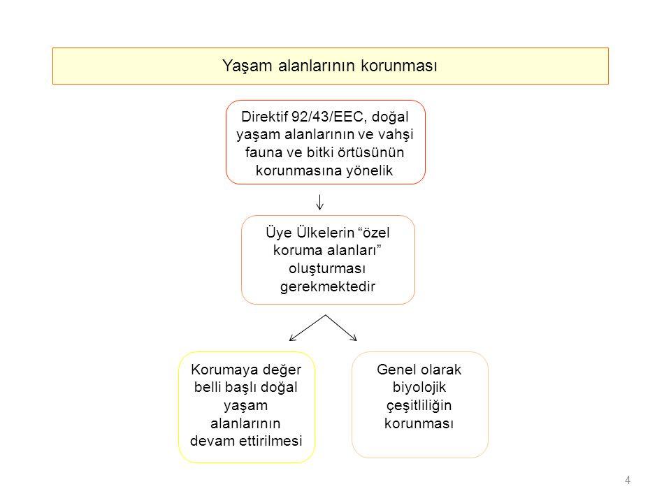 Direktif 74/440/EC (İçme suyu) Avrupa seviyesinde su hakkında yasama kurumu Su politikası alanında Avrupa'da gerçekleştirilecek eylemler konusunda bir çerçeve arz eder Su hakkındaki mevzuat İki ana dalga Direktif 2000/60/EC Su Çerçeve Direktifi 2000 yılından önce, bir dizi hüküm benimsenmiştir Direktif 80/68/EC (Yer altı suyu) Direktif 91/676/EEC (Nitratlar) Direktif 91/721/EEC (Şehir atık suyu) 15