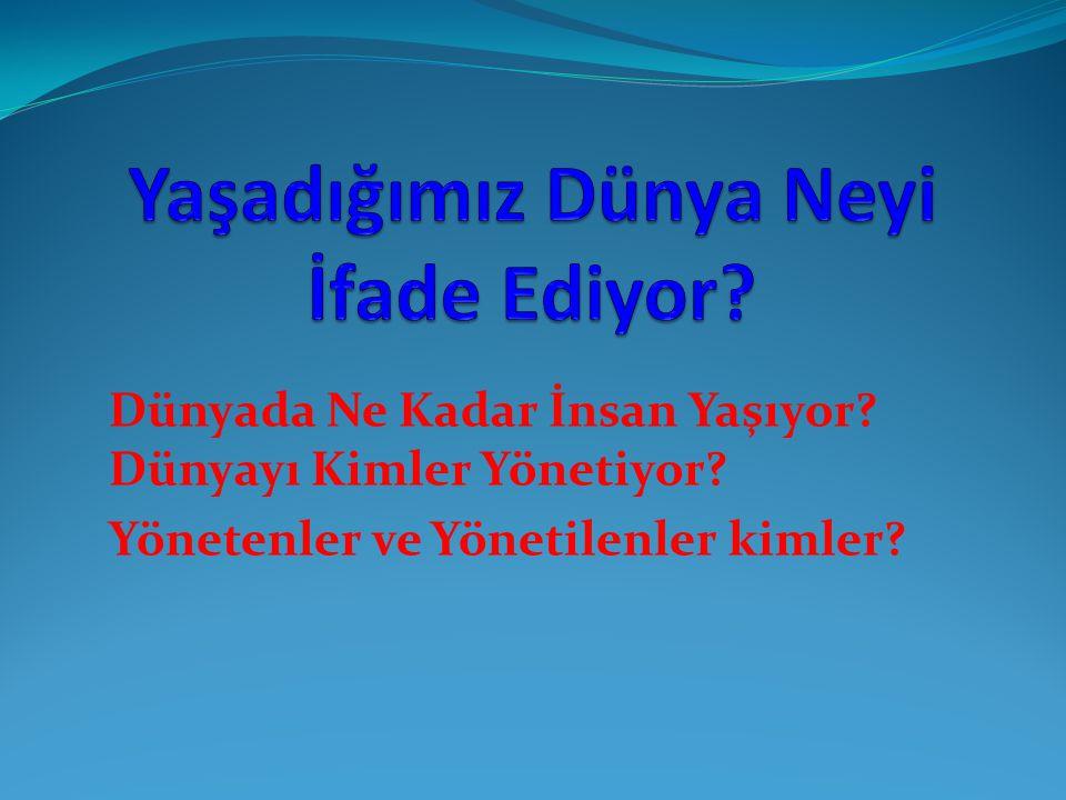 Gelecekte Türk Hakimiyeti 2150 Gelecekten haber vermek, kahinlerin işidir.
