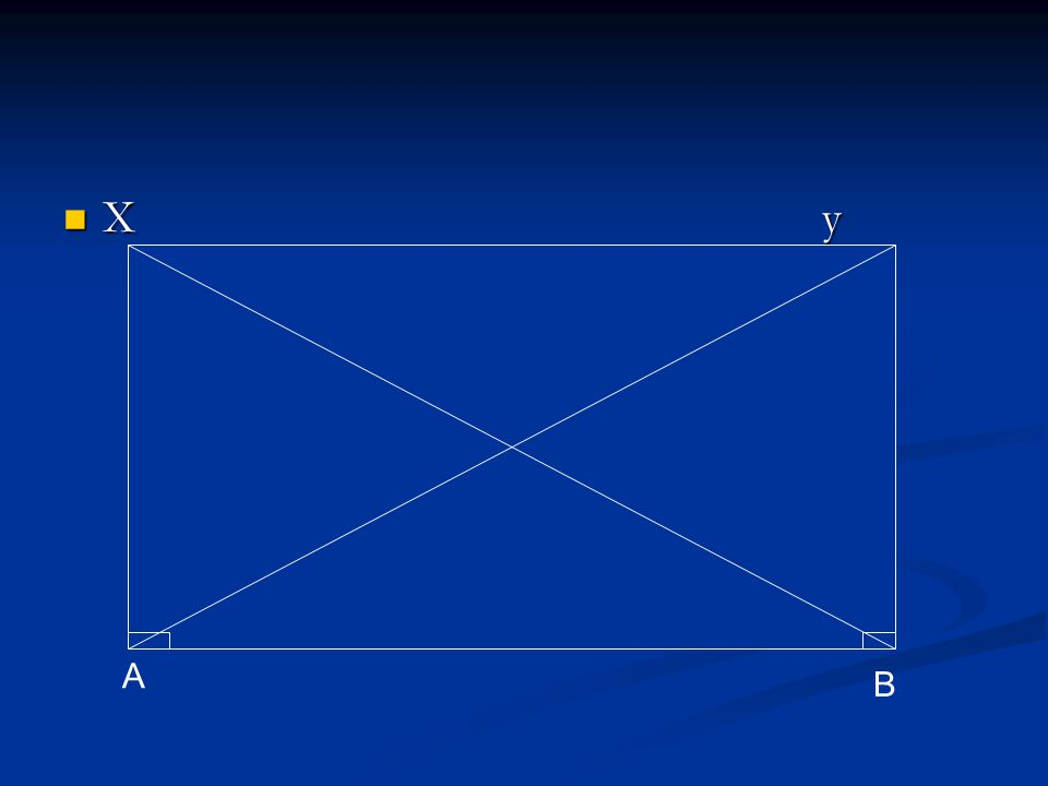 X y X y A B